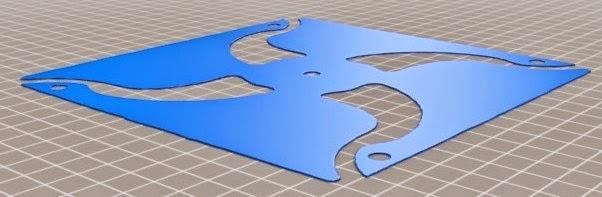 girandola 3D stampata
