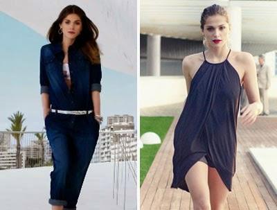 Ya es Primavera en El Corte Inglés 2014 spot moda complementos vestidos mono denim