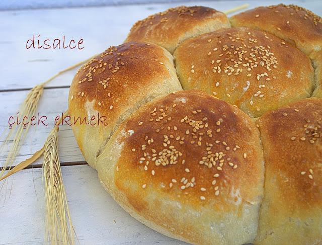 ekmek tarifleri çiçek ekmek