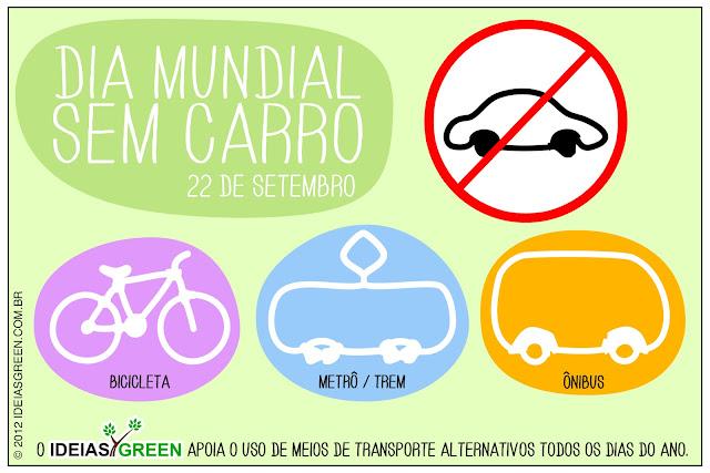 22 de setembro: Dia Mundial sem Carro