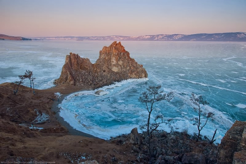 Wonderful Ice on Lake Baikal The Pearl of Siberia