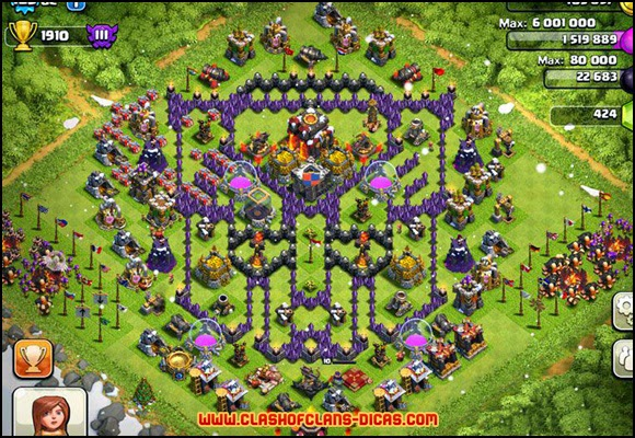 Clash of clans best defense my new favorite defense for clash of clans