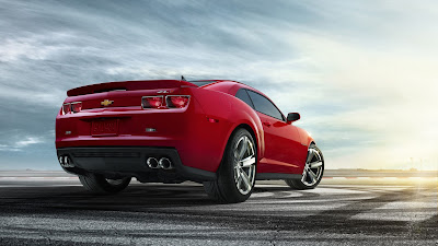 Chevy Camaro ZL1 Back View HD Wallpaper