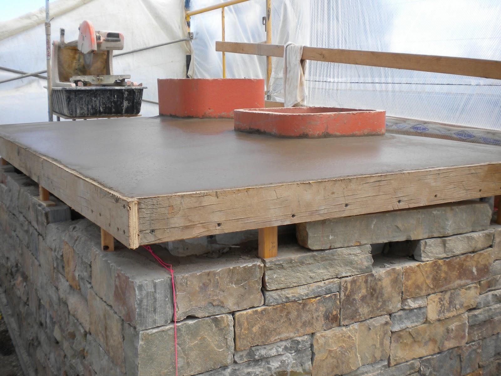 Concrete Chimney Cap : Boisineau masonry