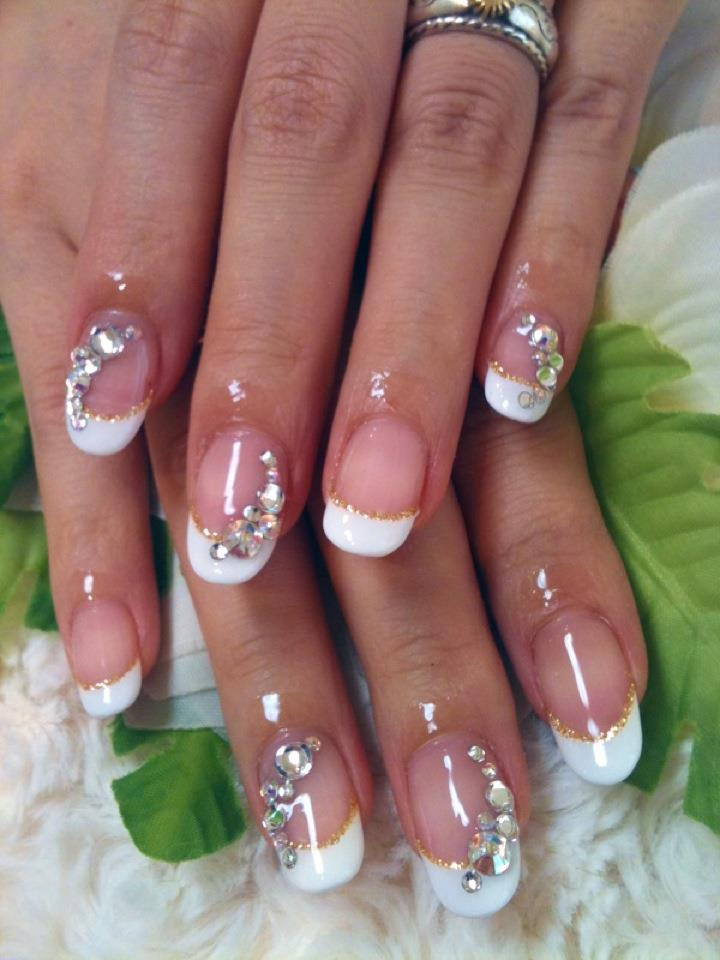 ♥Cute Nail Designs♥: French Gel Nails By Ayano