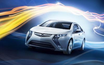 Opel Ampera (Autos de Lujo para gente con dinero)