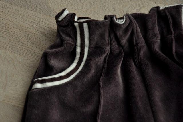 hjemmesyede bukser