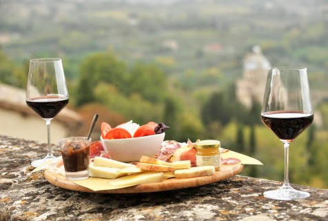 italian wine and food pairing