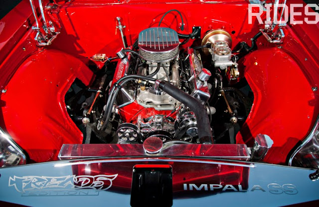 Impala SS 65 conversível com rodas 22 polegadas
