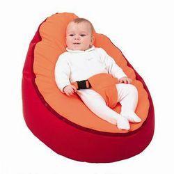 Puff perezoso para bebes y niños pequeños, con moldes