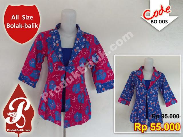Grosir Bolero Batik Murah