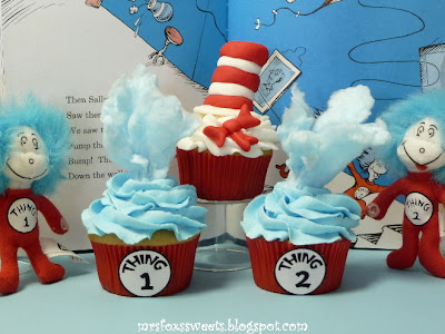Dr. Seuss- The Cat In the Hat, Thing 1 & Thing 2