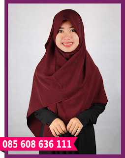 jilbab segi empat modern