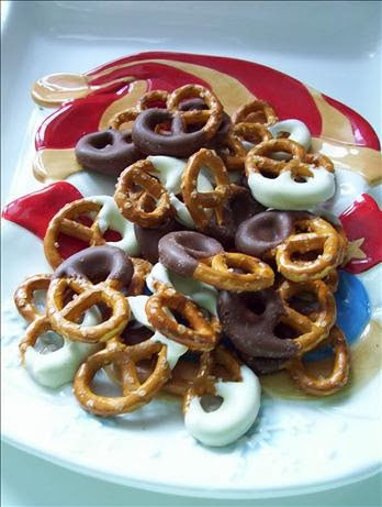 Chocolate Covered Pretzels!