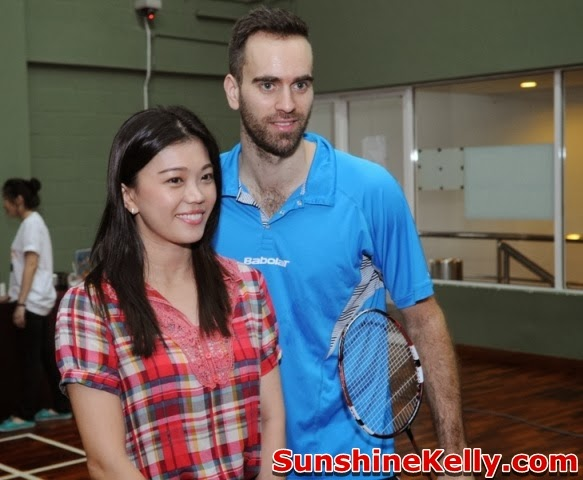 Joachim Fischer Nielsen, Babolat Badminton Demo Day, Malaysia, badminton, babolat