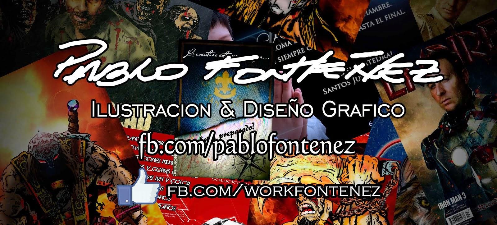 Pablo Fonteñez Ilustración y Diseño