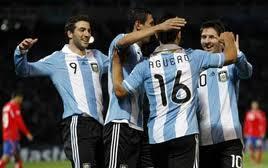 argentina goleo a costa rica