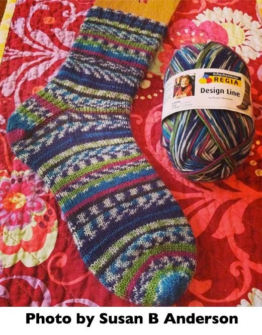 Getting Stitched on the Farm: Susan Rocks the Socks
