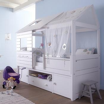 Divertidas camas para ni os colores en casa - Camas divertidas infantiles ...