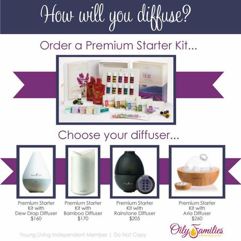 Introducing The New Premium Starter Kit From Young Living