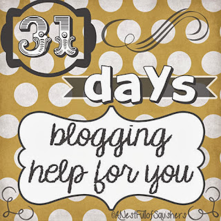 31 days blogging help with tips and tricks - @AndiGould