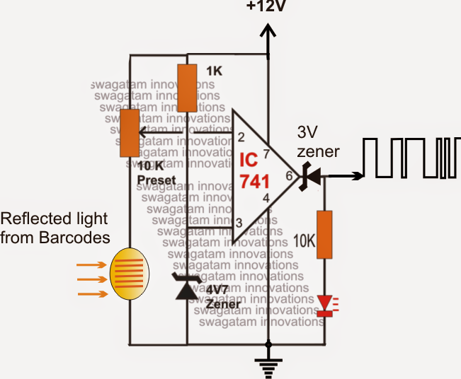 How to Make a Barcode Security Lock Circuit – Part1