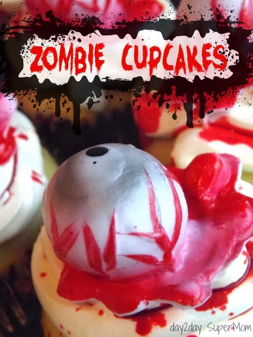 Zombie Cupcakes: Easy Last-Minute Halloween Treat
