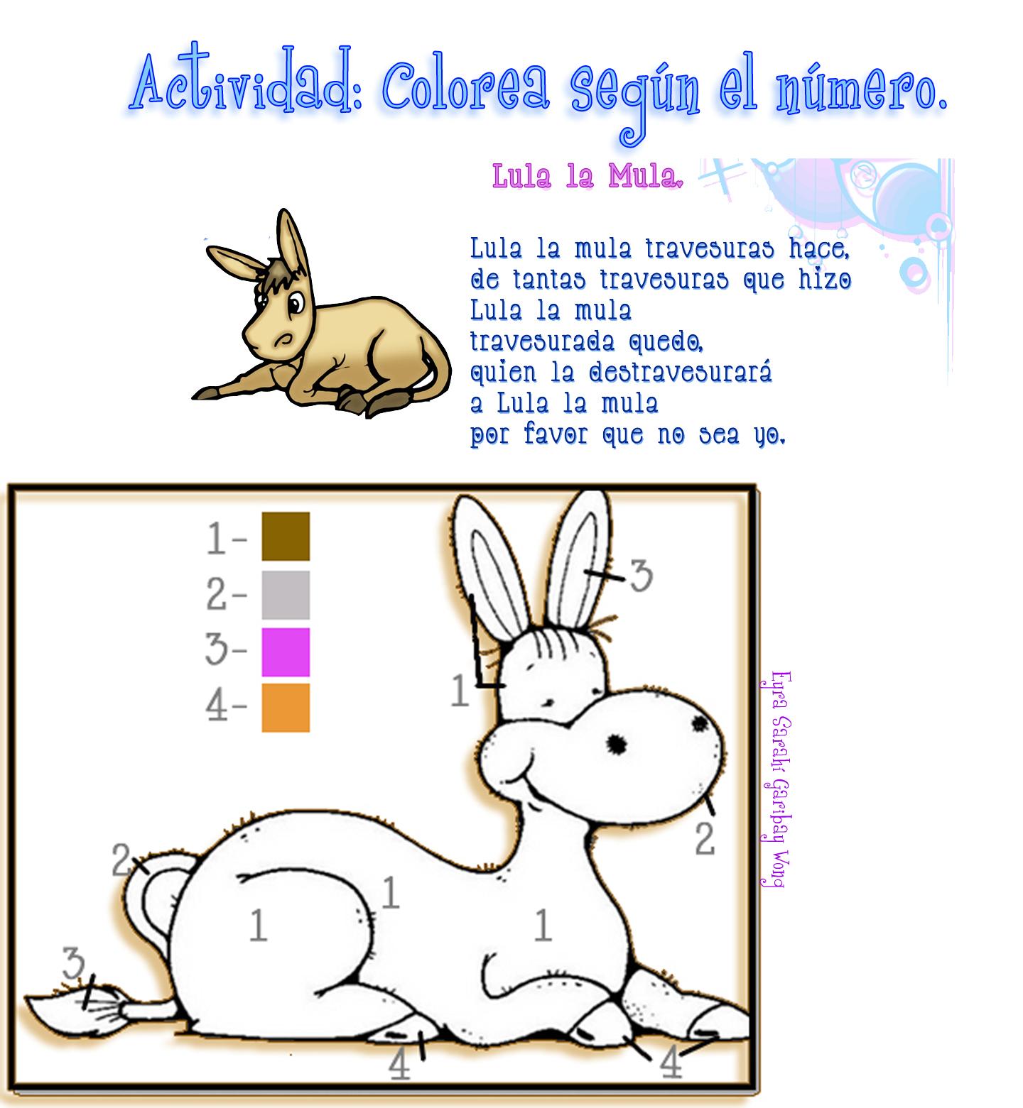 El Lenguaje de los Niños: Trabalenguas para Preescolar con dibujos.