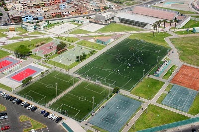 Villa deportiva regional del callao en bellavista - Complejo deportivo el mayorazgo ...