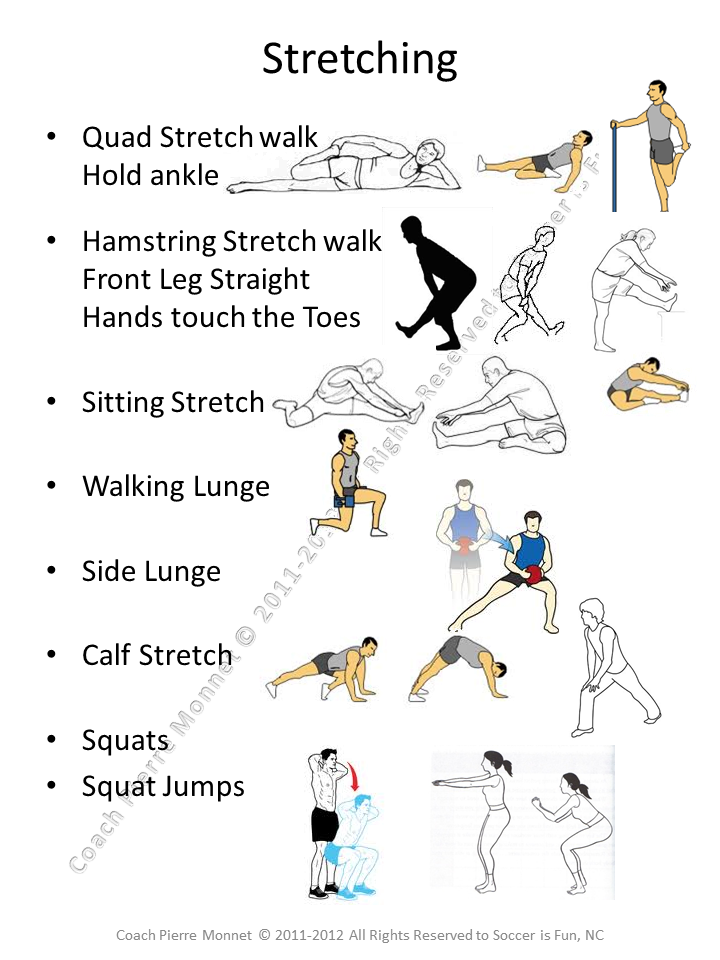 importance of stretching and warming up Instead, it is more important to do a warmup before exercising  while static  stretching (stretching muscles without warming up in an effort to.