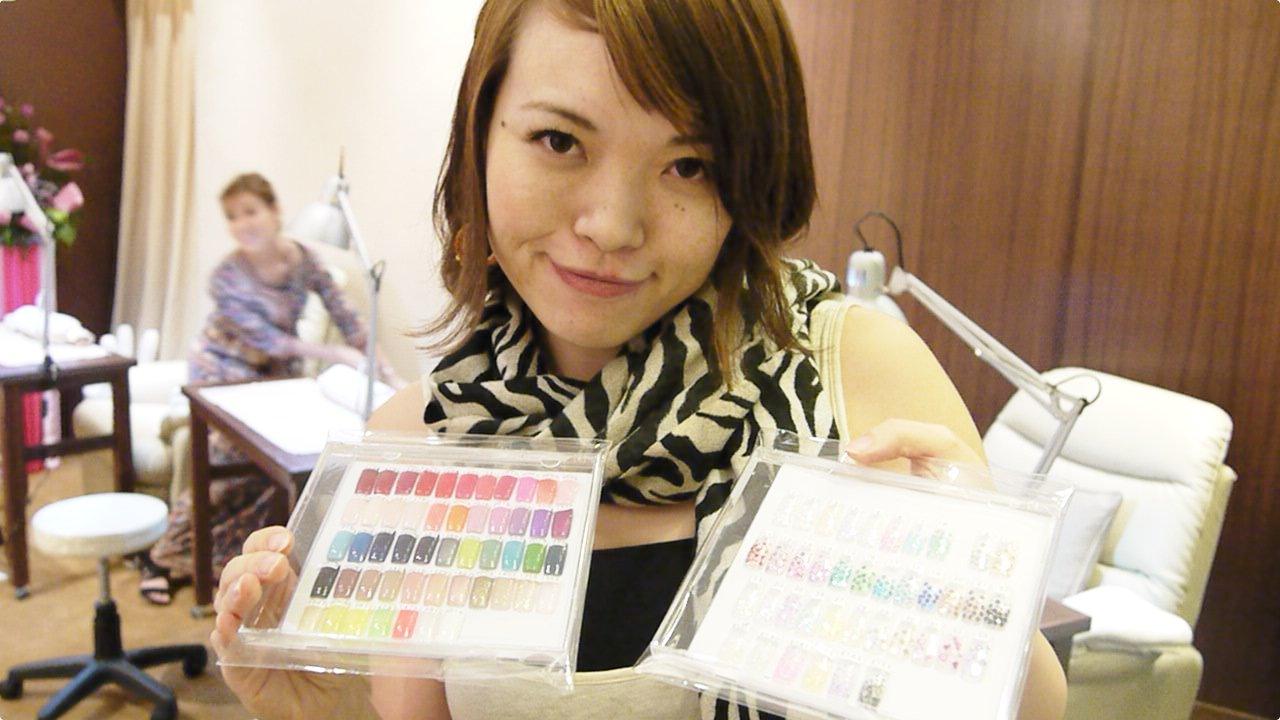 New video nail salon asian kawaii look friday 20120727 for A new look nail salon