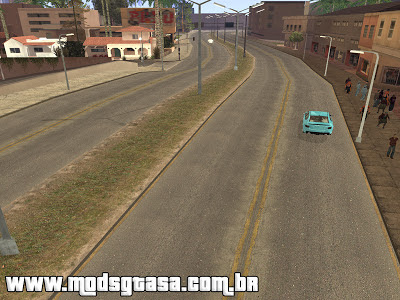 Todas as Rua do GTA IV para GTA San Andreas para GTA San Andreas