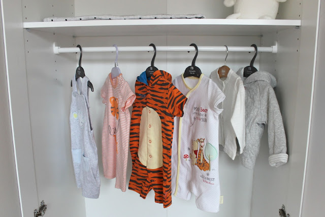 A picture of baby clothes