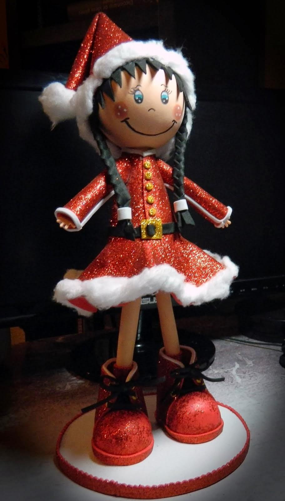 Fofucha de Navidad