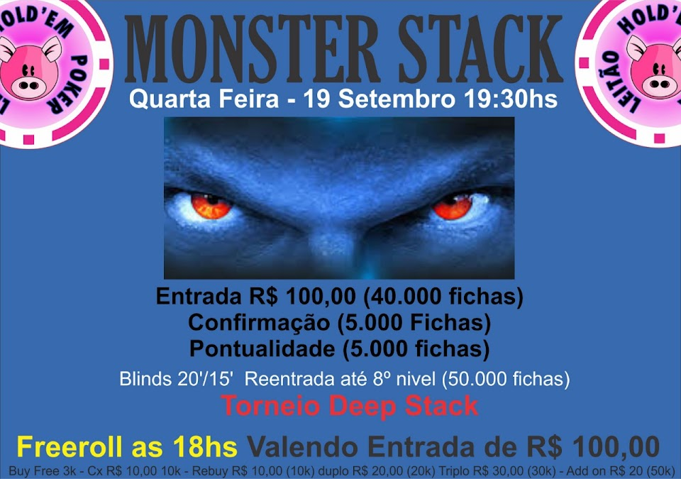 FREEROLL / MONSTER STACK