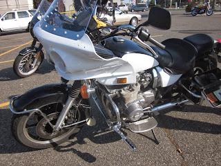OldMotoDude: 1980 Kawasaki KZ1000 Police Bike sold for