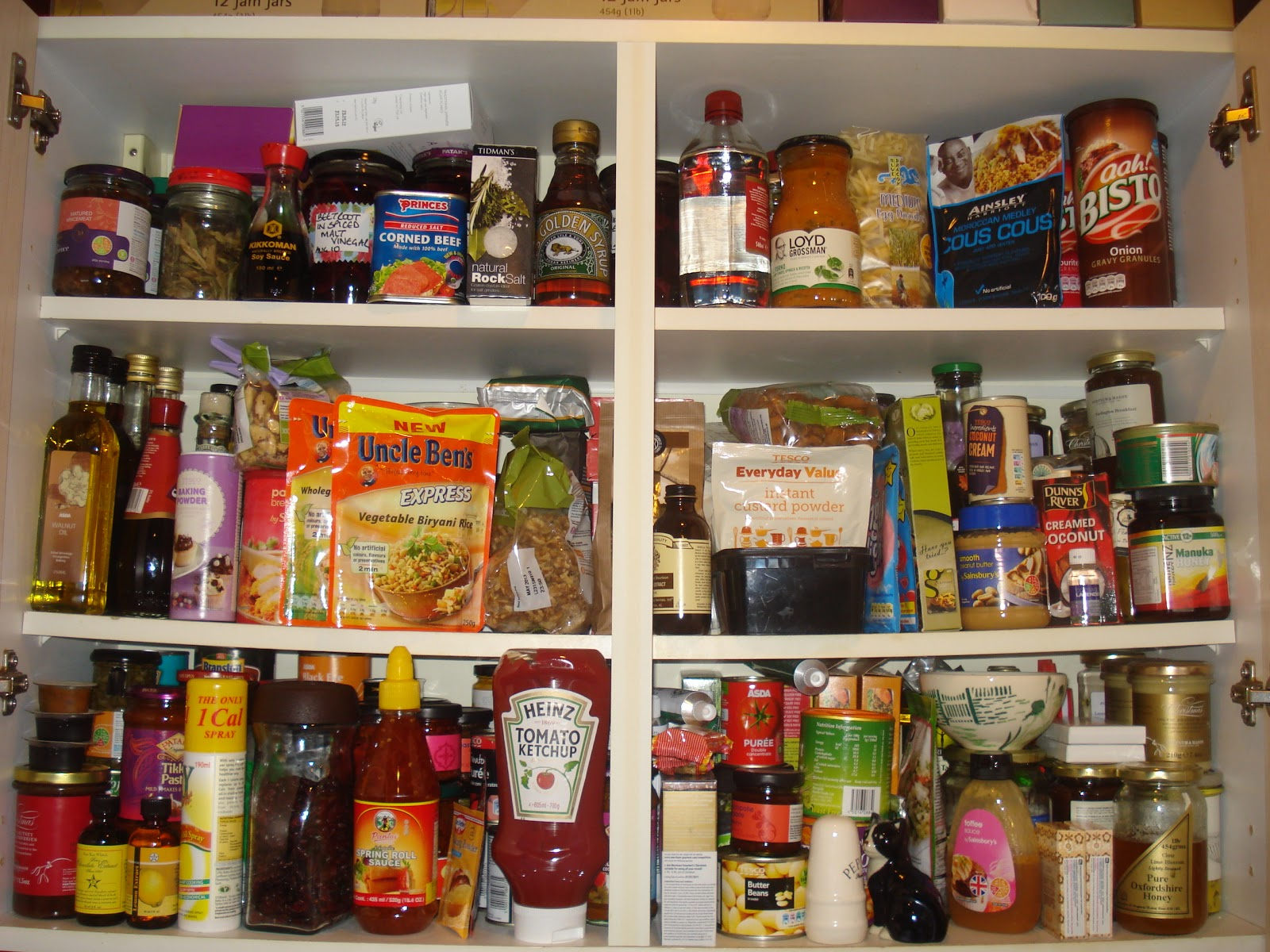 This Was The Main Food Cupboard Before Tidying The Other Week