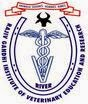 Rajiv Gandhi Institute of Veterinary Education and Research Recruitments (www.tngovernmentjobs.co.in)