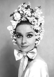 Couronnes de fleurs Audrey Hepburn