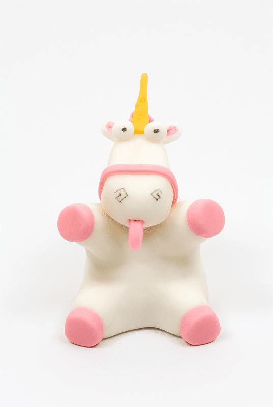 Despicable me unicorn its so fluffy fondant figurine