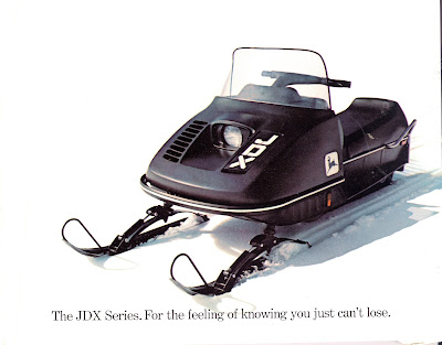 CLASSIC SNOWMOBILES OF THE PAST: 1975 JOHN DEERE JDX ...