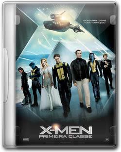 dvd X Men: Primeira Classe