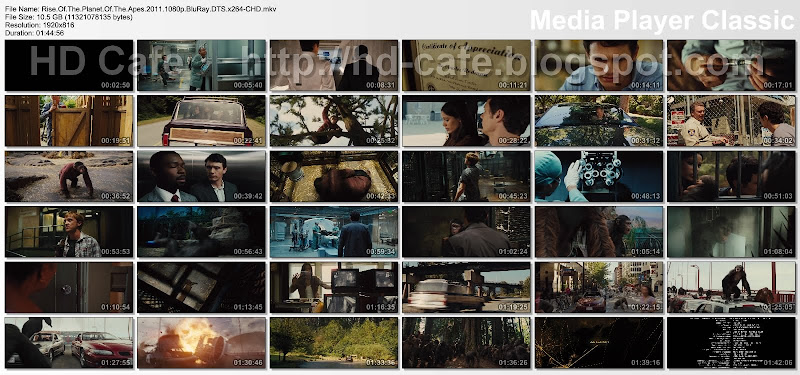 Rise Of The Planet Of The Apes 2011 video thumbnails