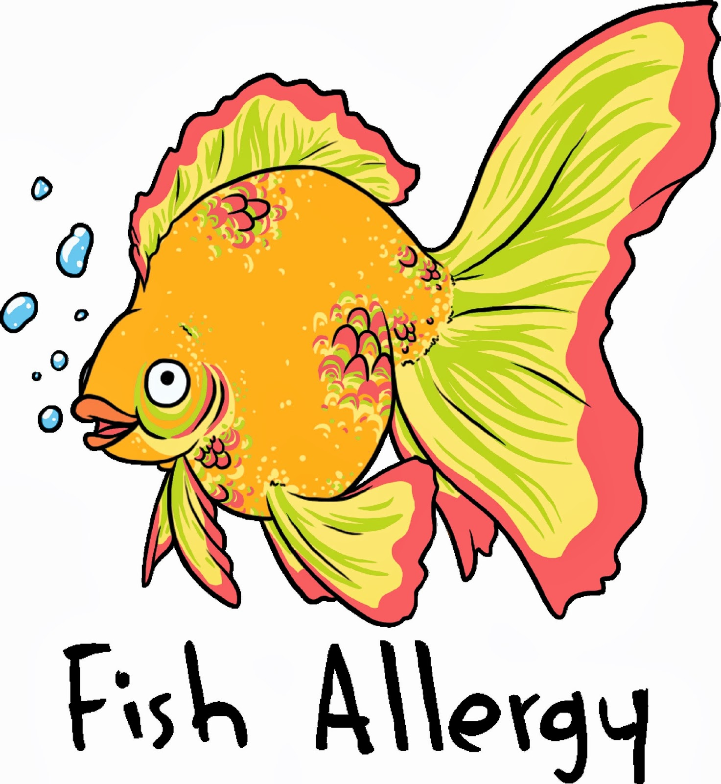 Sensitivitees the sharing caring clothing company seafood for Allergic reaction to fish