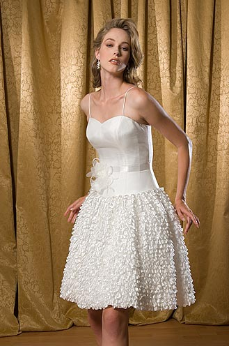 Short White Wedding Dress on Short Fabulous Wedding Dresses For The Modern Bride