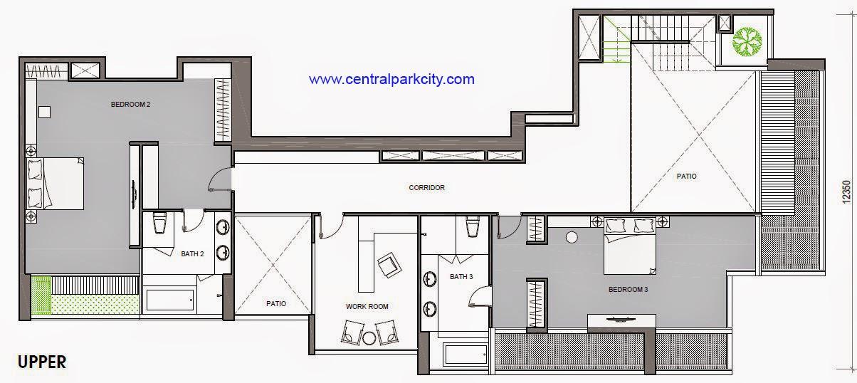 Vinhomes Central Park Penthouse - Căn số 02 tầng 36-37 Upper - 4PN - 456.3m2