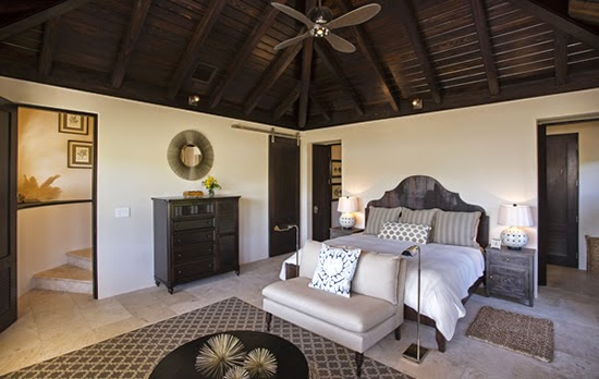 Professionally designed interior of this home in St Kitts