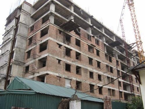 Rắc rối khi mua căn hộ xây sai phép