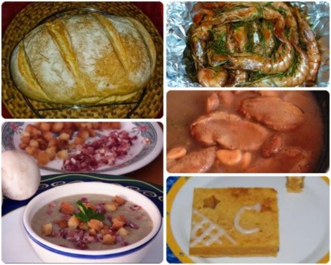 Menú con Cinco Recetas nº 27