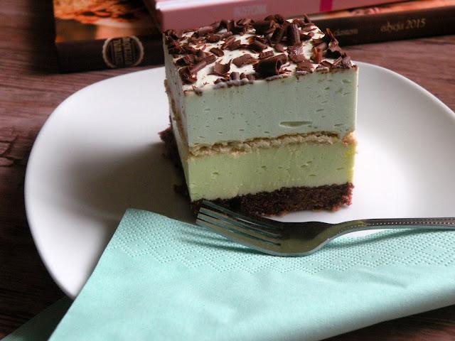 ciasto miętusek z landrynek